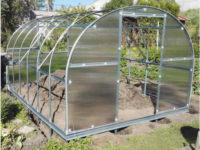 Zahradní skleník vhodný i do vyšších oblastí
