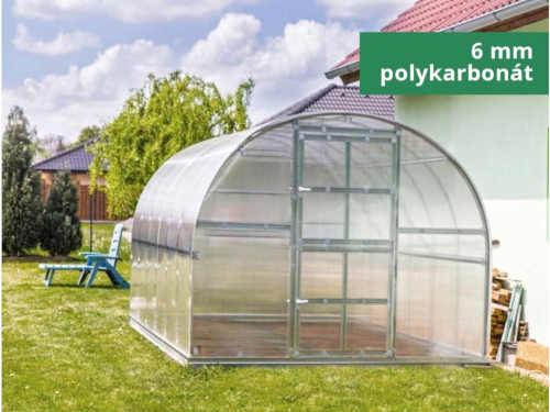 odolný obloukový zahradní skleník