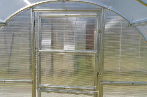 skleník obloukový ocel plus polykarbonát