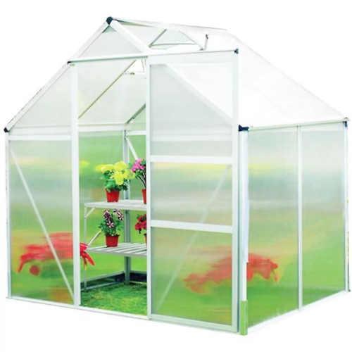 zahradní skleník 193x185 cm