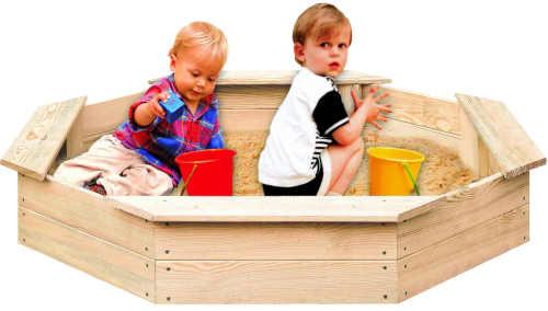 osmihranné dětské zahradní pískoviště