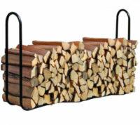 Velký kovový venkovní stojan na dřevo SADR DOUBLE
