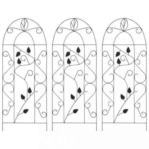 Opěry na pnoucí rostliny v elegantním designu