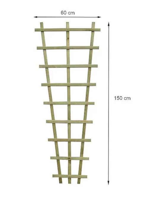 praktická opěrní mřížka na květiny