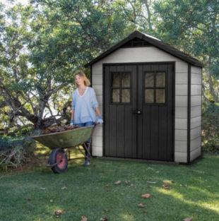 Zahradní domek pro ukládání zahradního náčiní