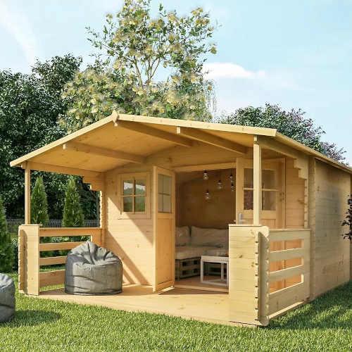 domek dřevěný na zahradu