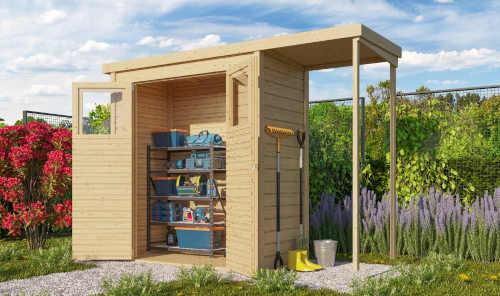 domek v přírodním designu