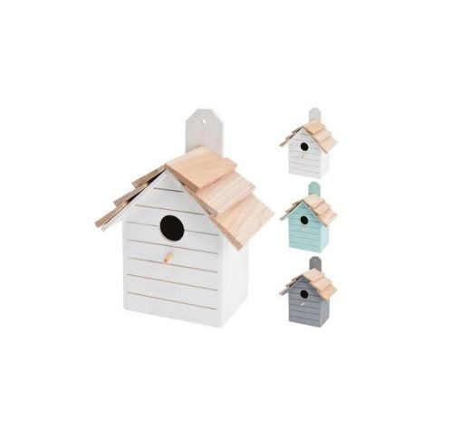 Dřevěná ptačí zahnízďovací budka