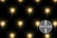 LED světelná síť pro celoroční využití