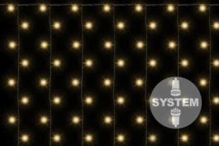 LED světelný závěs s celoročním využitím