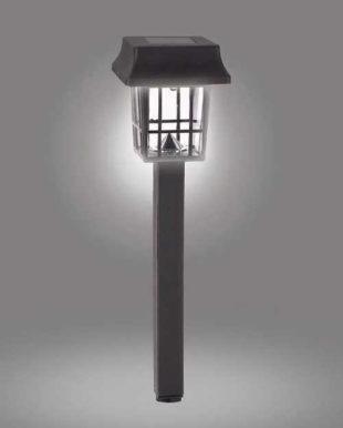 Solární lampa v moderním čtvercovém tvaru