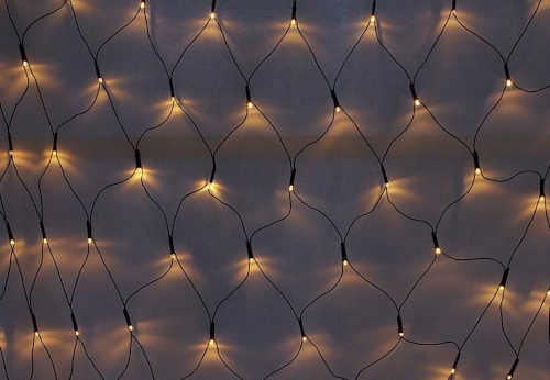světelná venkovní led síť