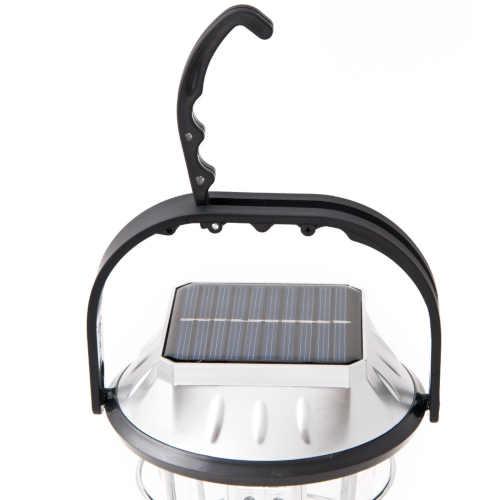 závěsná solární led lampa