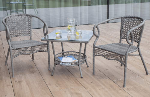 Balkónový jídelní set TODOR 1+2