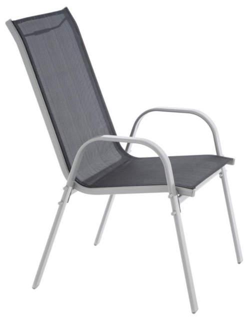 Levná kovová židle na balkon či terasu