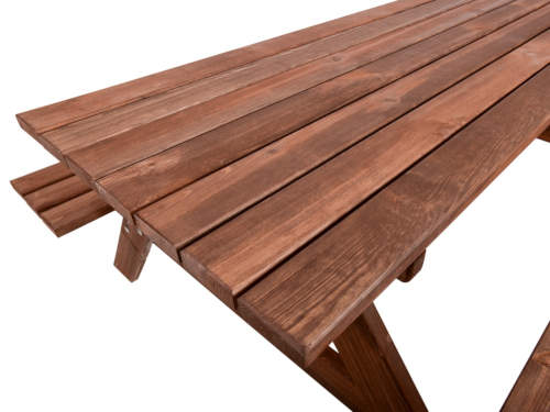 Zahradní set s lavicemi a stolem z borovicového dřeva