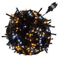 LED světelný řetěz pro celoroční venkovní využití