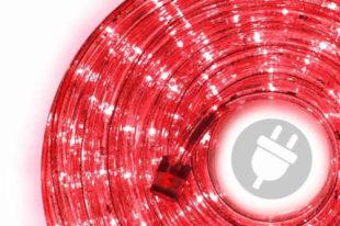 Venkovní LED světelný kabel - 480 diod