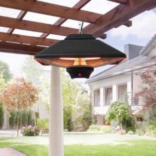 Závěsný tepelný ohřívač s LED osvětlením